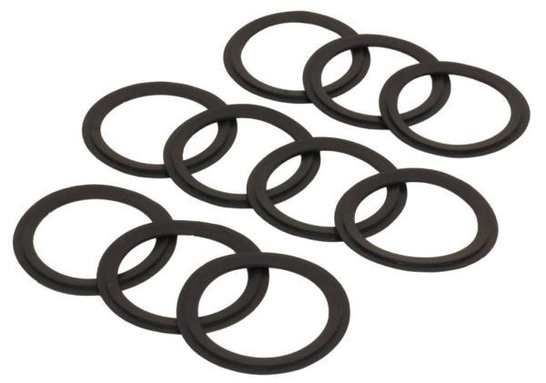 Zehnder O-Ringe für ComfoTube 75, Inhalt 10 Stück, Farbe schwarz - Selfio