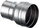 Schornstein Übergang 180 mm EW auf 150 mm EW Edelstahl
