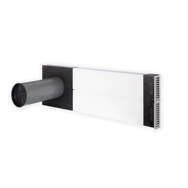 Zehnder Laibungslösung für das dezentrale Lüftungsgerät ComfoAir 70 Selfio