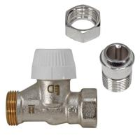 Buderus Thermostatventil Unterteil TVV D15, M30 x 1,5 mm Durchgangsform 1/2 Zoll