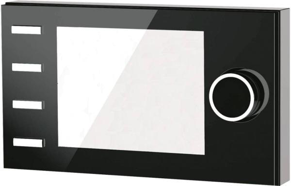 Wolf Bedienmodul BM-2 Solar, Ansicht seitlich, Farbe schwarz - Selfio