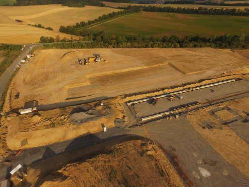 Baustelle-Selfio-Logistikzentrum-koblenz