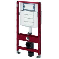 TECEprofil WC-Modul mit Geberit Sigma Spülkasten, Betätigung vorne, Bauhöhe 1120 mm