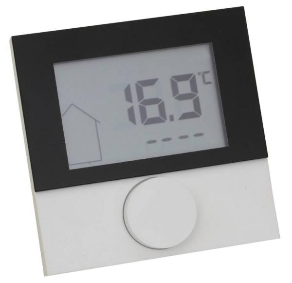 Alpha Regler direct Control LCD 230 V mit Designscheibe - 130568 Selfio