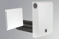 Dezentrales Zehnder Komfort-Lüftungsgerät ComfoAir 70 Außenwandhaube Aluminium weiß Selfio