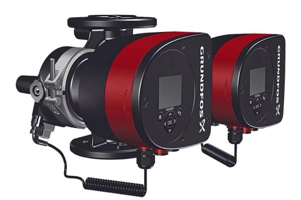 Grundfos Hocheffizienz-Umwälzpumpe Magna3 F Doppelpumpe 32-120 220 mm 97924834