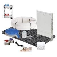 Fußbodenheizung Mini Dünnschichtsystem 20 m² Komplettset PE-RT RTA | Selfio