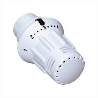 Meibes Thermostatkopf StarTecII Klemmanschluss mit Flüssigfühler und Nullstellung, Ansicht Thermostatkopf komplett - Selfio