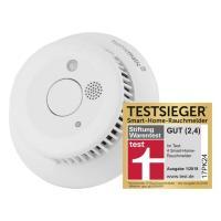 Homematic IP Rauchwarnmelder HmIP-SWSD mit Q-Label 142685A0 Testsieger Stiftung Warentest