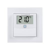 Homematic IP Wired Temperatur- und Luftfeuchtigkeitssensor mit Display HmIPW-STHD - innen - Ansicht vorne