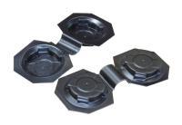 Diagonalhalter für Noppenplatte Standard, 40 Stück