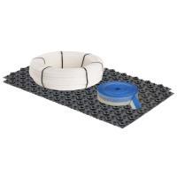 Fußbodenheizung Dünnschichtsystem PE-RT Basis Set 90 m² | Selfio