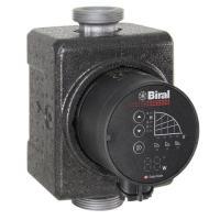 Biral HE-Umwälzpumpe PrimAX 25-3 130 RED G 1 1/2 230V mit Wärmedämmschale Frontansicht