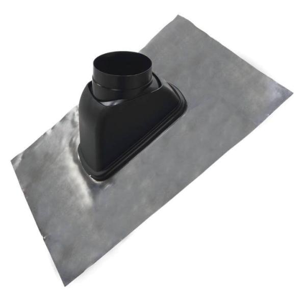 Universaldachpfanne DN 204, 800 x 1000, Blei passend für Dachdurchführung DN 150, 160, 180 Ansicht setlich Selfio