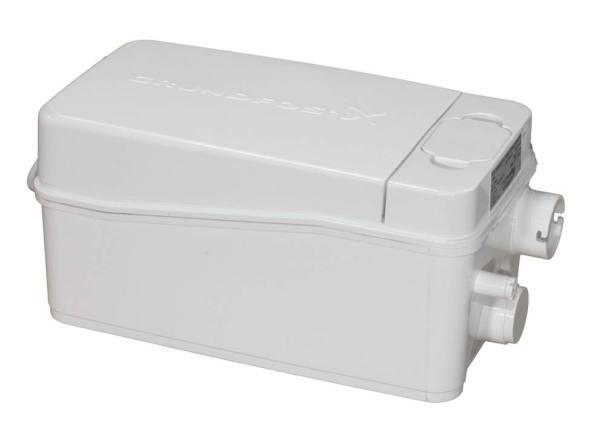 Grundfos Kleinhebeanlage Sololift2 D-2 Frontansicht