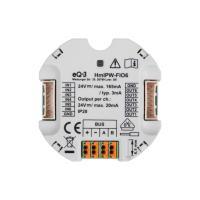 Homematic IP Wired IO Modul Unterputz HmIPW-FIO6 - 6-fach 152482A0 - Ansicht vorne