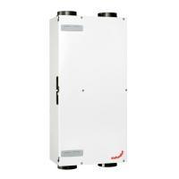 Zehnder Lüftungsgerät ComfoAir 225 VR Luxe, Ansicht frontal, Farbe weiß - Selfio