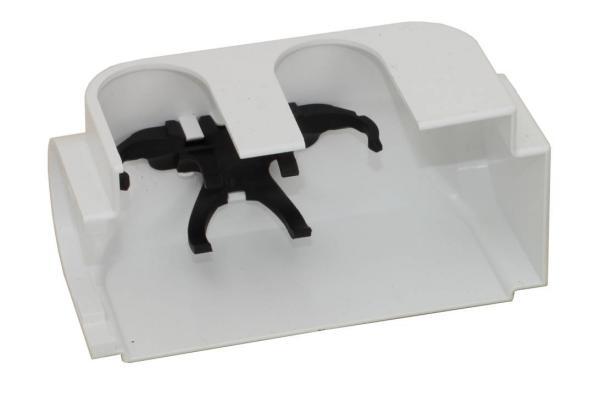 Simplex Designverkleidung für Anschlussarmatur / Multiblock, rechts, weiß - F12034 Selfio