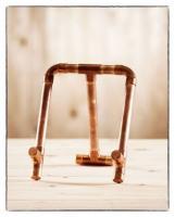 DIY Kupferrohr Bastelpaket - Tablethalter