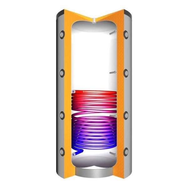 Juratherm Hochleistungs-Pufferspeicher mit 1 Wärmetauscher JPSR 825 - 111825 von Selfio
