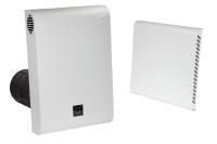 Dezentrales Zehnder Komfort-Lüftungsgerät ComfoAir 70 Außenwandhaube Kunststoff Farbe weiß Selfio