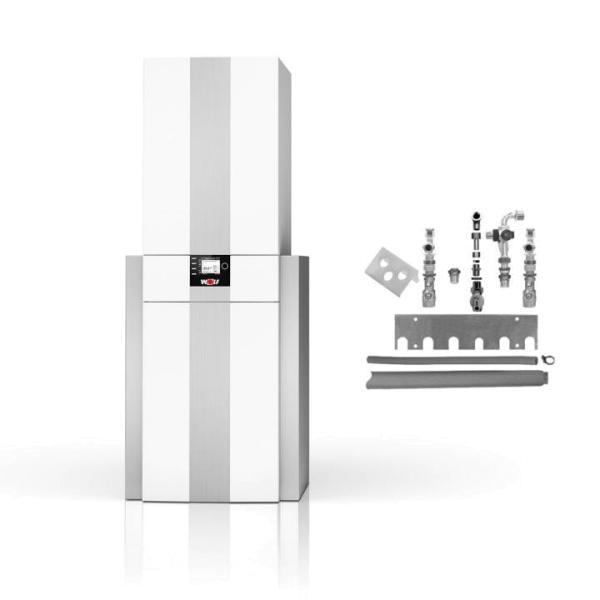 Wolf Gas-Brennwert Kompaktheizzentrale CGS-2R Komplett - 8615014F01 Selfio