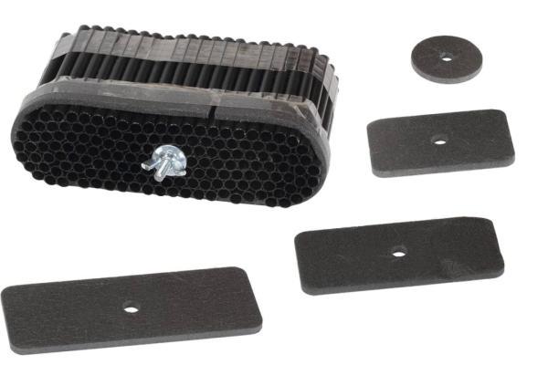 Zehnder ComfoSet Luftmengendrossel Flat 51 mit vier Stauscheiben - Selfio