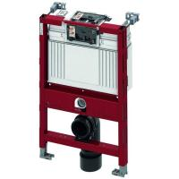 TECEprofil WC-Modul mit TECE-Spülkasten, Betätigung vorne oder oben, Bauhöhe 820 mm