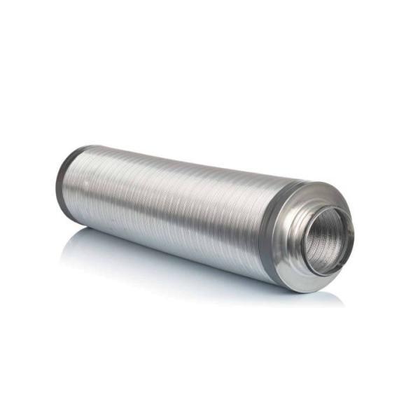 Telefonieschalldämpfer für DN160, 1000 mm Selfio - Seitenansicht