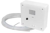 Luftdruckwächter P4-Multi (Aufputz) für offene Feuerstätten Ansicht Gerät und Anschlusskabel Selfio