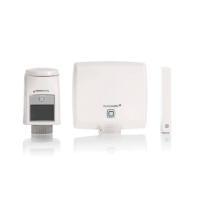 Homematic IP Starter Set Raumklima HmIP-SK1 142546A0 - Einzelkomponenten Access Point HmIP-HAP, Heizkörperthermostat HmIP-eTRV-2, Fenster- und Türkontakt...