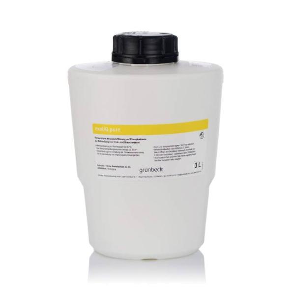 Grünbeck Mineralstoff Dosierlösung exaliQ pure 3 Liter