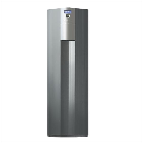 alpha innotec Sole/Wasser Wärmezentrale alterra V-line WZSV mit integriertem Brauchwasserspeicher Frontansicht - 10072041 Selfio