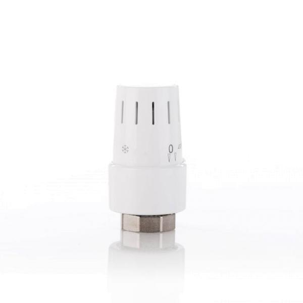 Simplex Kompakt Heizkörper-Thermostat TC-S3 Gewindeanschluss, Ansicht Vorderseite - Selfio