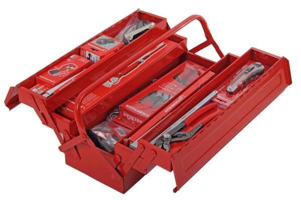Rothenberger Werkzeugset Azubi, 50-teilig im Stahlblechkoffer
