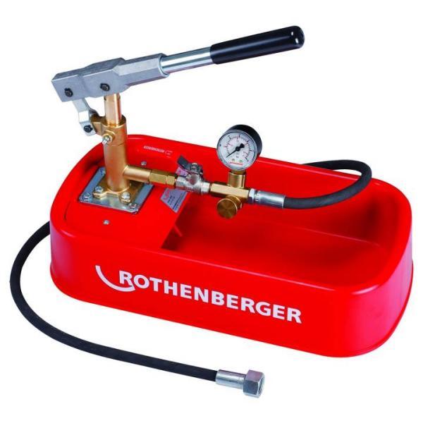 Prüfpumpe für Dichtheitsprüfung eco Rothenberger RP 30, 30 bar - 61130 Selfio