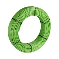Selfio-Floor Metallverbundrohr PE-RT / AL / PE-RT 14 x 2 mm 200 m Rolle - Ansicht schräg - Farbe grün | Selfio