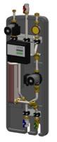 Juratherm Frischwasserstation JFWS 45, Ansicht Gerät komplett - Selfio