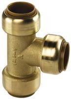Kupfer Steckfitting Tectite T-Stück 15 mm gleich Abgänge T130