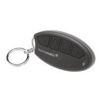 Homematic IP Schlüsselbundfernbedienung - Alarm HmIP-KRCA 142562A0 - Ansicht schräg