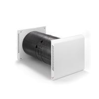 Zehnder Komfort-Lüftungsgerät ComfoSpot 50, Ansicht seitlich mit Blende - Selfio