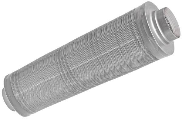 Zehnder Telefonieschalldämpfer aus Aluminium für DN125, Länge 1000 mm - Selfio