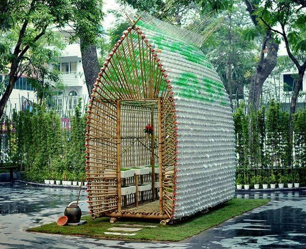 Mini-Gewaechshaus-selber-bauen-Plastikflaschen-exotisch-Selfio