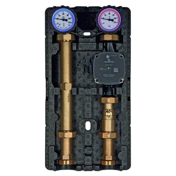 Afriso Heizungspumpengruppe PrimoTherm 180-1 DN 25 mit Pumpe für ungemischte Heizkreise komplett