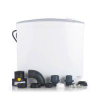 Jung Schmutzwasser-Hebeanlage Hebefix extra inkl. Alarm für aggressive Abwässer Frontansicht komplett