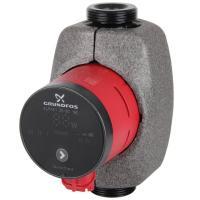 Grundfos Hocheffizienz-Umwälzpumpe Alpha1 25-60 180 mm Frontansicht