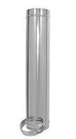 1000 mm Längenelement für Edelstahl Schornstein doppelwandig DN 100