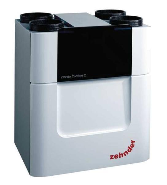 Zehnder Lüftungsgerät ComfoAir Q600 mit Enthalpiewärmetauscher, Farbe weiß - Selfio