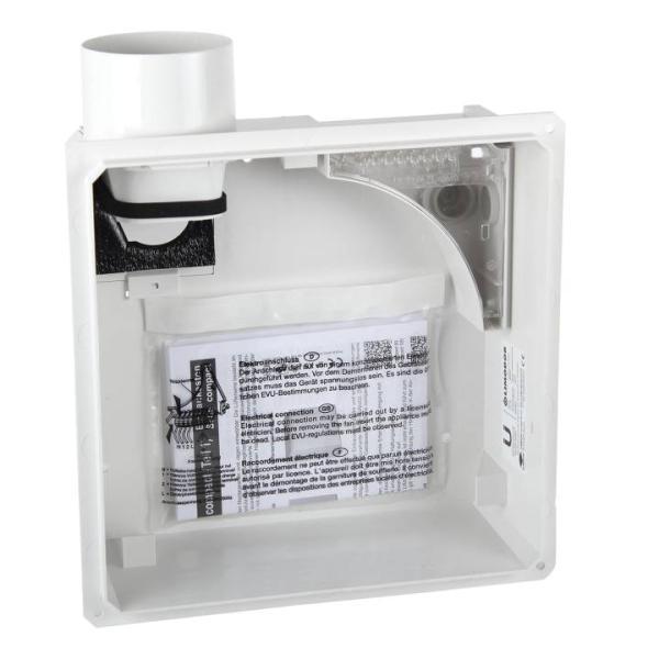 Limodor Einbaukasten für Lüfterserie compact Innenansicht Selfio