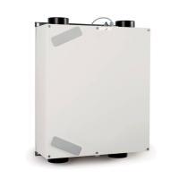 Zehnder Lüftungsgerät ComfoAir 160 ohne Bedieneinheit, Ansicht frontal, Farbe weiß - Selfio